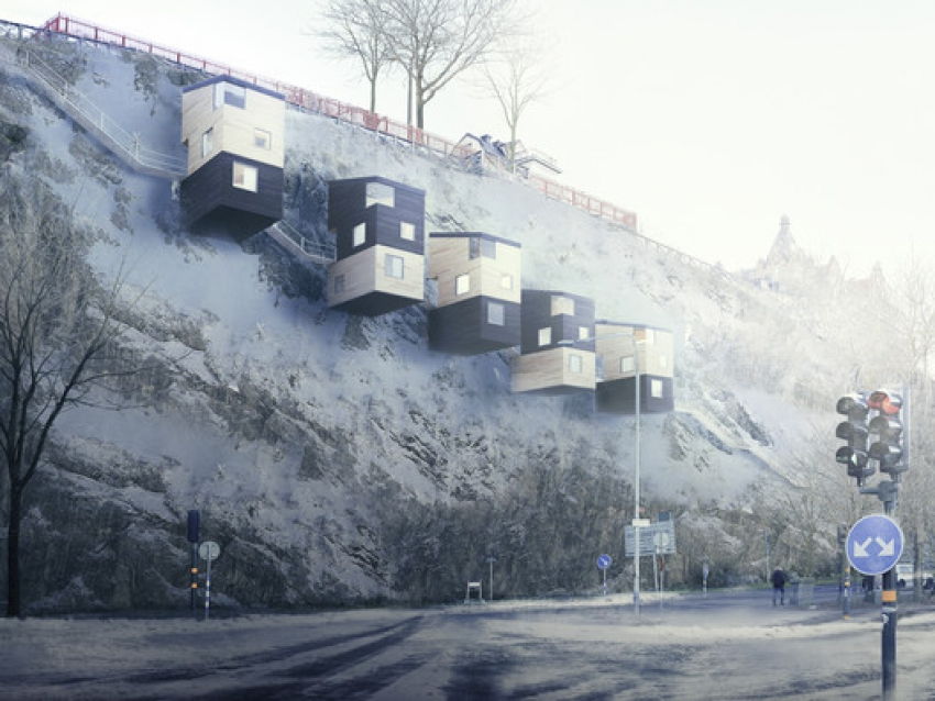 Forget Treehouses Cliffhouses are the Future