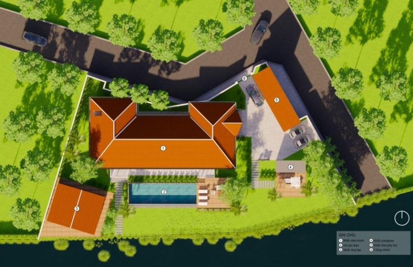 Biệt thự ven sông Villa D9