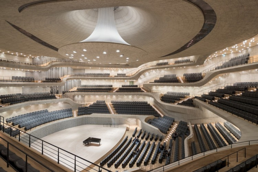 WaPos New Augmented Reality Series Begins With a Virtual Look at the Ceiling of Herzog de Meurons Elbphilharmonie